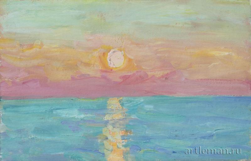 Картины знаменитых художников восход солнца